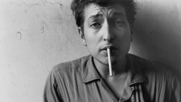 Een jonge Bob Dylan Beeld getty