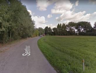 """Proefopstelling met knip in Senthout moet het veiliger maken voor zwakke weggebruiker: """"Er rijdt de laatste tijd meer en meer gemotoriseerd verkeer"""""""