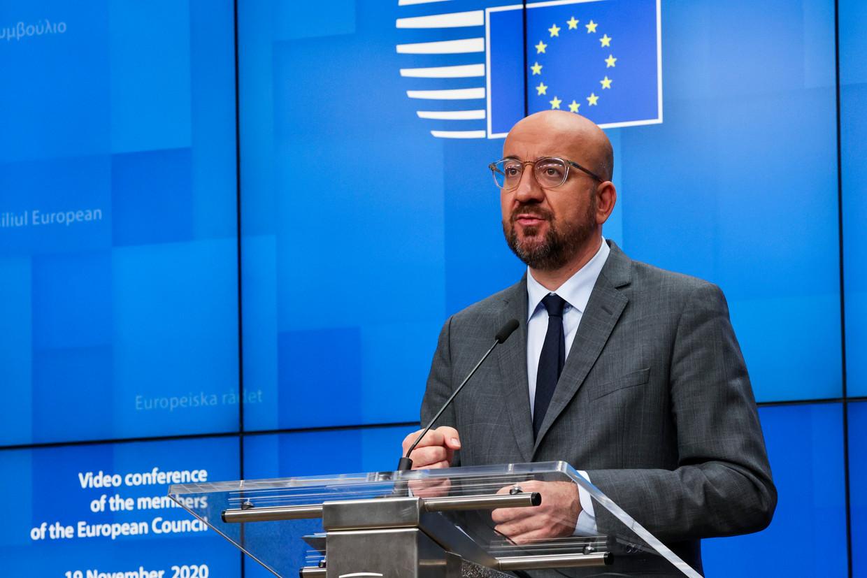 Europees president Charles Michel. Beeld AP