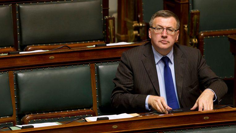 Steven Vanackere, tijdens de vorige legislatuur nog in de Kamer.