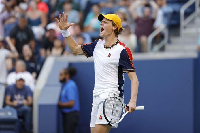 Jannik Sinner est en huitièmes de finale de l'US Open pour la première fois.
