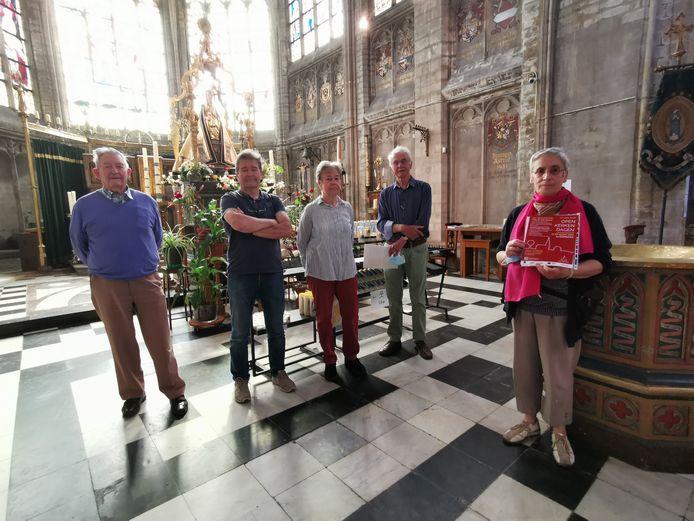 De kerk van Alsemberg is het decor van een tentoonstelling tijdens de Open Kerkendagen.