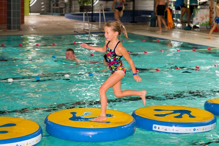 Lopen op het water: het hoeft niet altijd een hypermoderne attractie te zijn die met de aandacht gaat lopen.