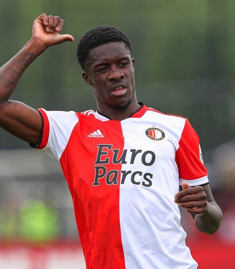 Feyenoord verhuurt vleugelaanvaller Conteh aan Duitse tweedeklasser