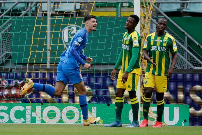 Armando Broja maakte dit seizoen beide doelpunten tegen ADO Den Haag in de 0-2 zege.