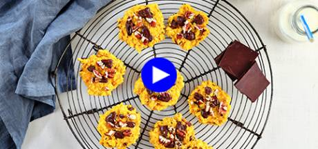 Des biscuits 'conscience tranquille', sans sucre mais délicieusement sucrés: voici le secret