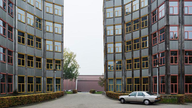 Het kantoorcomplex Tripolis is ontworpen door architecht Aldo van Eyck Beeld Maarten Steenvoort