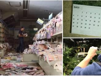 De plaats waar alle kalenders stil bleven staan op 11 maart 2011: Belg en Nederlander dringen met camera binnen in verboden zone Fukushima