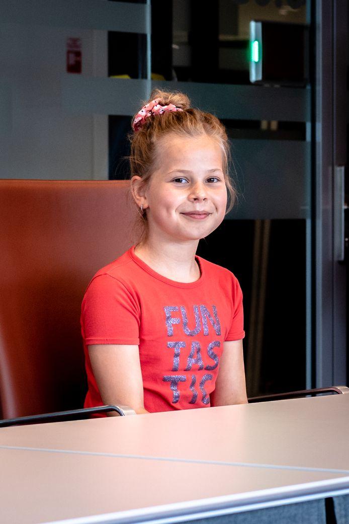 Melodie Dronkers is de nieuwe kinderburgemeester.
