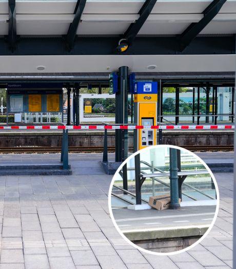 Lege doos legt treinverkeer Apeldoorn lam