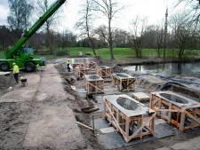 3D-brug in Zwanenveld begint eindelijk vorm te krijgen