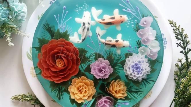 Ouderwetse gelatinetaarten maken een comeback (maar zien er nu te mooi uit om op te eten)