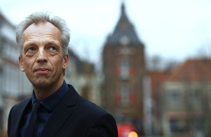 Burgemeester Sjors Fröhlich van Vijfherenlanden.