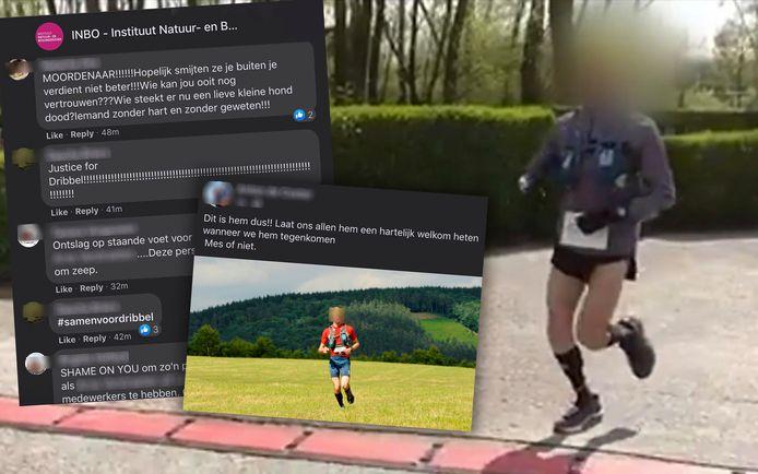 De joggen kreeg tientallen doodsbedreigingen nadat zijn identiteit bekend raakte op sociale media.
