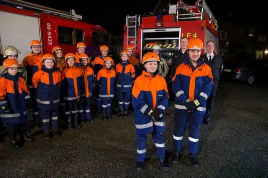 Begin vorig jaar zijn twee Nederlandse jongens aan de slag gegaan bij de jeugdbrandweer in Suderwick.