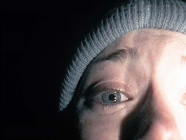 Heather Donahue in The Blair Witch Project. Beeld