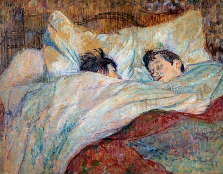 Henri de Toulouse-Lautrec: Het bed, 1892. Beeld Corbis via Getty Images