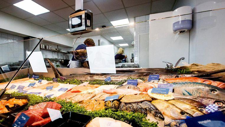 Een viswinkel Beeld anp