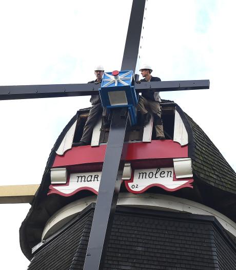 Molenaar Don kan weer vaker naar zijn Mariamolen in Haps