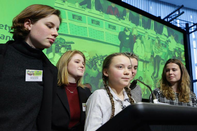 Greta Thunberg. Beeld AFP