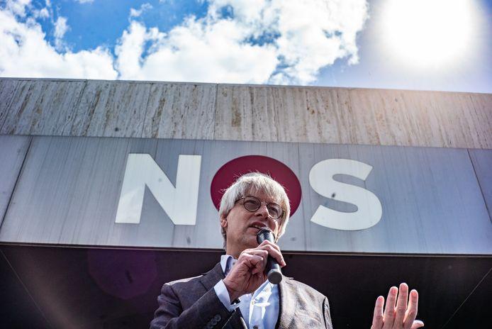 Marcel Gelauff, hoofdredacteur van NOS Nieuws.