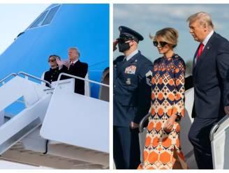 Trump aangekomen in Mar-a-Lago