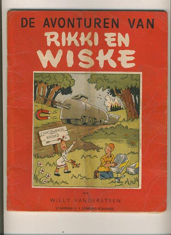 """""""De avonturen van Rikki en Wiske"""", de eerste Suske en Wiske uit 1946, is in 1946 op 7.000 exemplaren gedrukt. Verzamelaars tasten op veilingen diep in de buidel om nog een oorspronkelijke uitgave op de kop te tikken."""