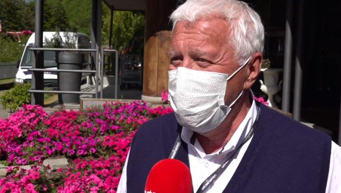 Patrick Lefevere bij VTM NIEUWS.