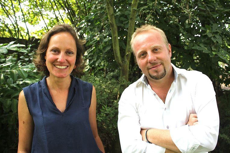 Evi De Maeseneire en Dieter Debruyn zoeken vrijwilligers voor het project.