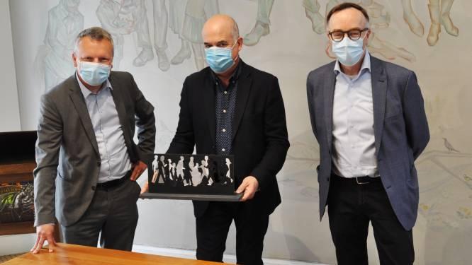 Kunstenaar Herman Claus mag kunstwerk maken voor vijftigste verjaardag van Wuitensmarsen