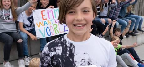 Geen podiumplek, wel een mooie dag voor Emma