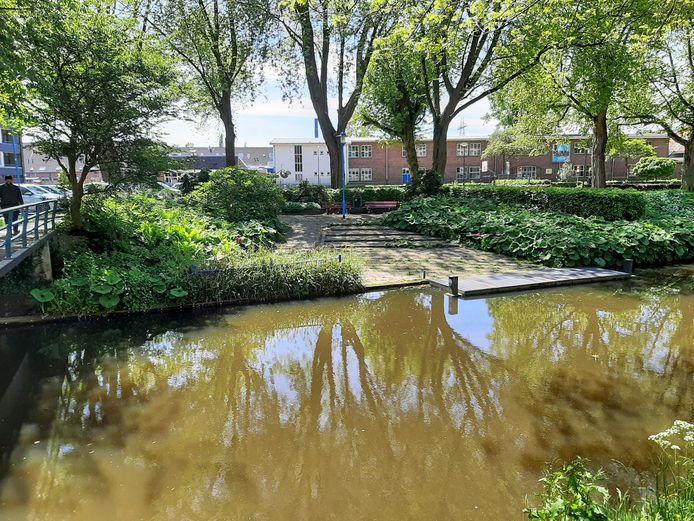 De Tuin van Mien in Veenendaal, aan de rand van het centrum.