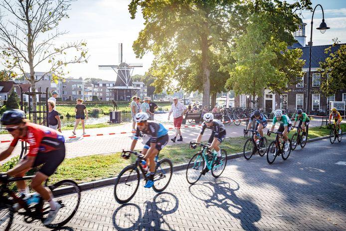 Beeld van de Ronde van Ommen in 2019.