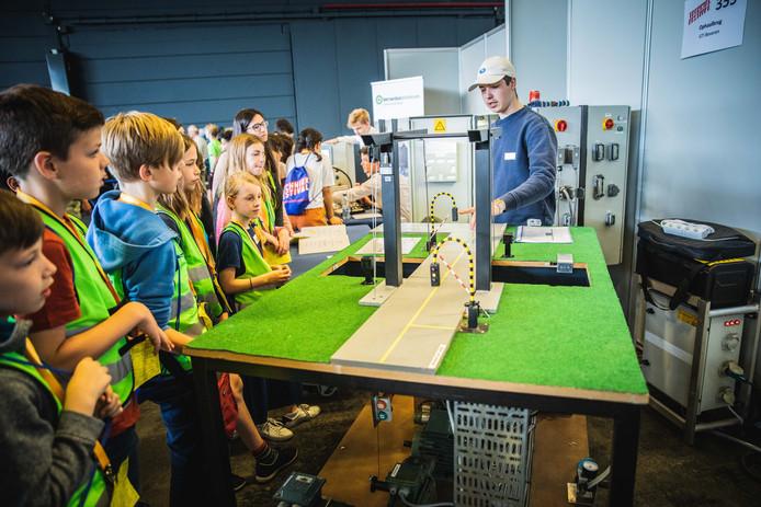 Techniekfestival in Flanders Expo.