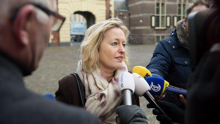 Minister Jet Bussemaker is voorstander van de rekentoets. Beeld ANP