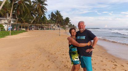 """Koppel uit Bonheiden verblijft momenteel in Sri Lanka: """"We mogen ons hotel niet uit"""""""
