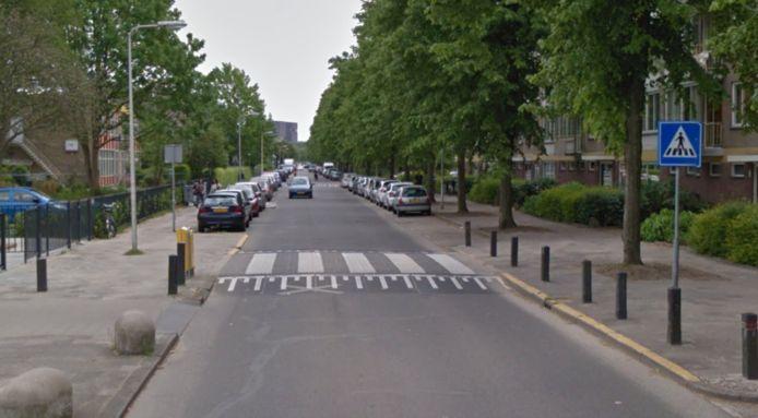 De schietpartij vond plaats aan de Van Bijnkershoeklaan in Transwijk
