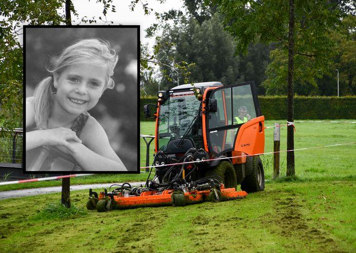 Fleur (6) overleed in september 2018 bij het ongeluk met de grasmaaier in het Nederlandse Kampen.