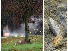 Vliegtuigbom uit Tweede Wereldoorlog tot ontploffing gebracht op luchthaven Twente