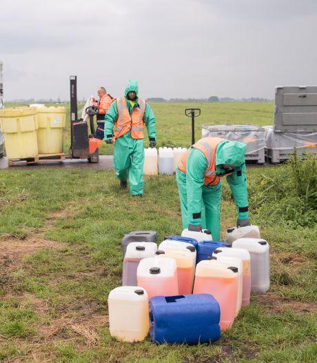 Drugsafval gedumpt in het weiland? Ook boeren kunnen geld krijgen voor het opruimen