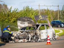 Uitgebrande auto die na schietpartij Zwolle werd gevonden blijkt gestolen in Den Haag