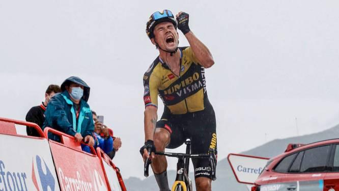 Imposante Roglic zet Vuelta naar zijn hand: derde ritzege en leiderstrui voor de Sloveen