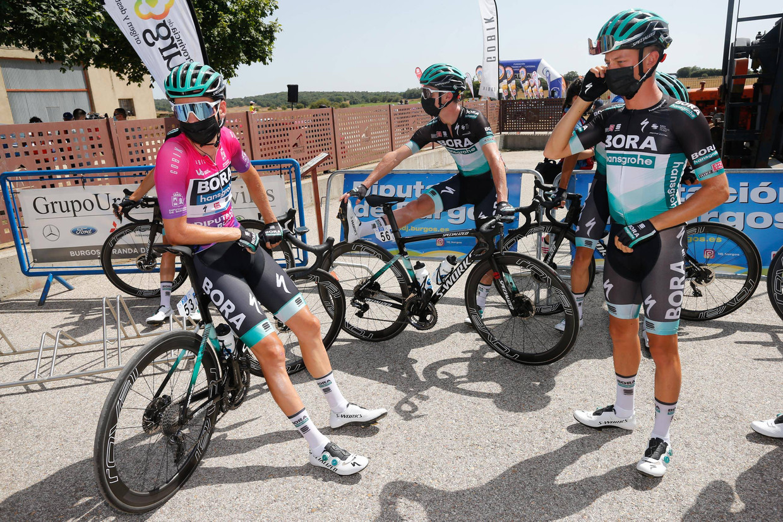 Derde etappe van de Ronde van Burgos, gisteren. Beeld Santi Otero / Cordon Press / Cordon Press