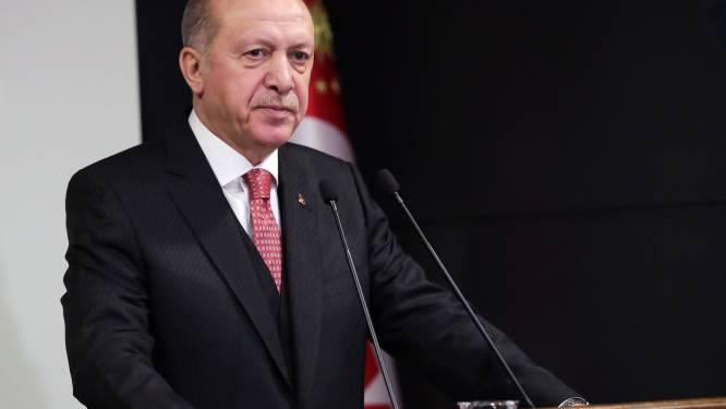 Erdogan dient klacht in tegen tv-presentator na kritiek