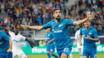 Zenit begint nu wel goed tegen ploeg van Ole Gunnar Solskjær, Badibanga neemt optie op groepsfase