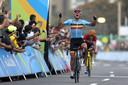 Van Avermaet kroonde zich in Rio tot olympisch kampioen.