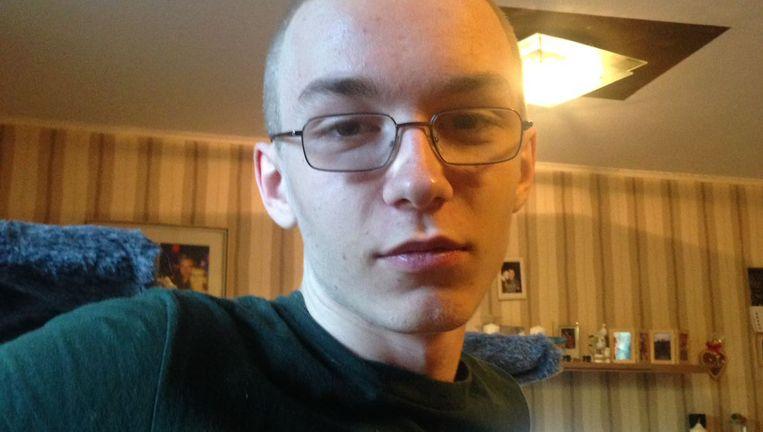 De opgepakte Marcel Hesse (19). Beeld AFP
