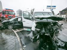 Gewonde en forse schade bij ongeval Eerbeek