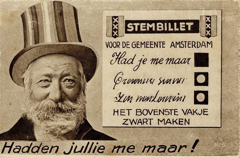 Cornelis de Gelder, alias Hadjememaar. Beeld Stadsarchief