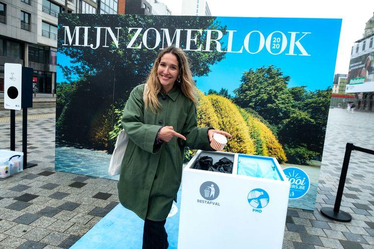 Fashionexperte en voorvechtster van duurzaamheid Tiany Kiriloff is het gezicht van 'Zomerlook 2020', de campagne van Mooimakers.